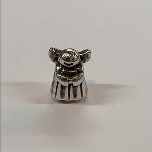 Pandora sterling silver 925 angle charm